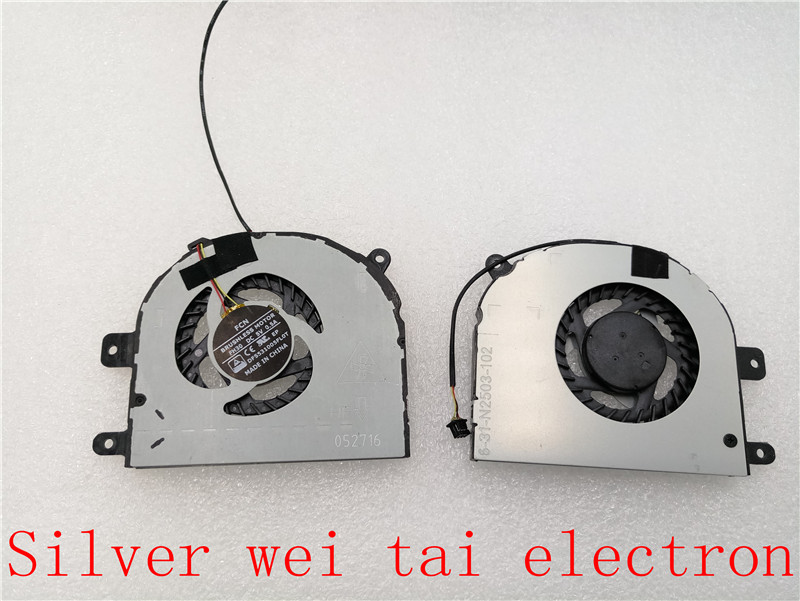 New original cpu cooling fan for Clevo 6-31-N2503-100 6-31-N2503-102 laptop cpu cooling fan cooler DFS531005FL0T FH30 gipfel indigent 2503