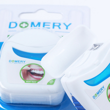 50M Dental Flosser PTFE Wire Floss Oral Care Tooth Cleaning Toothpick Mint Wax Fresh Healthy Teeth Gums Care