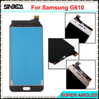 Sinbeda Super AMOLED LCD Screen For Samsung Galaxy J7 Prime G610 G610F G610K G610L LCD Display