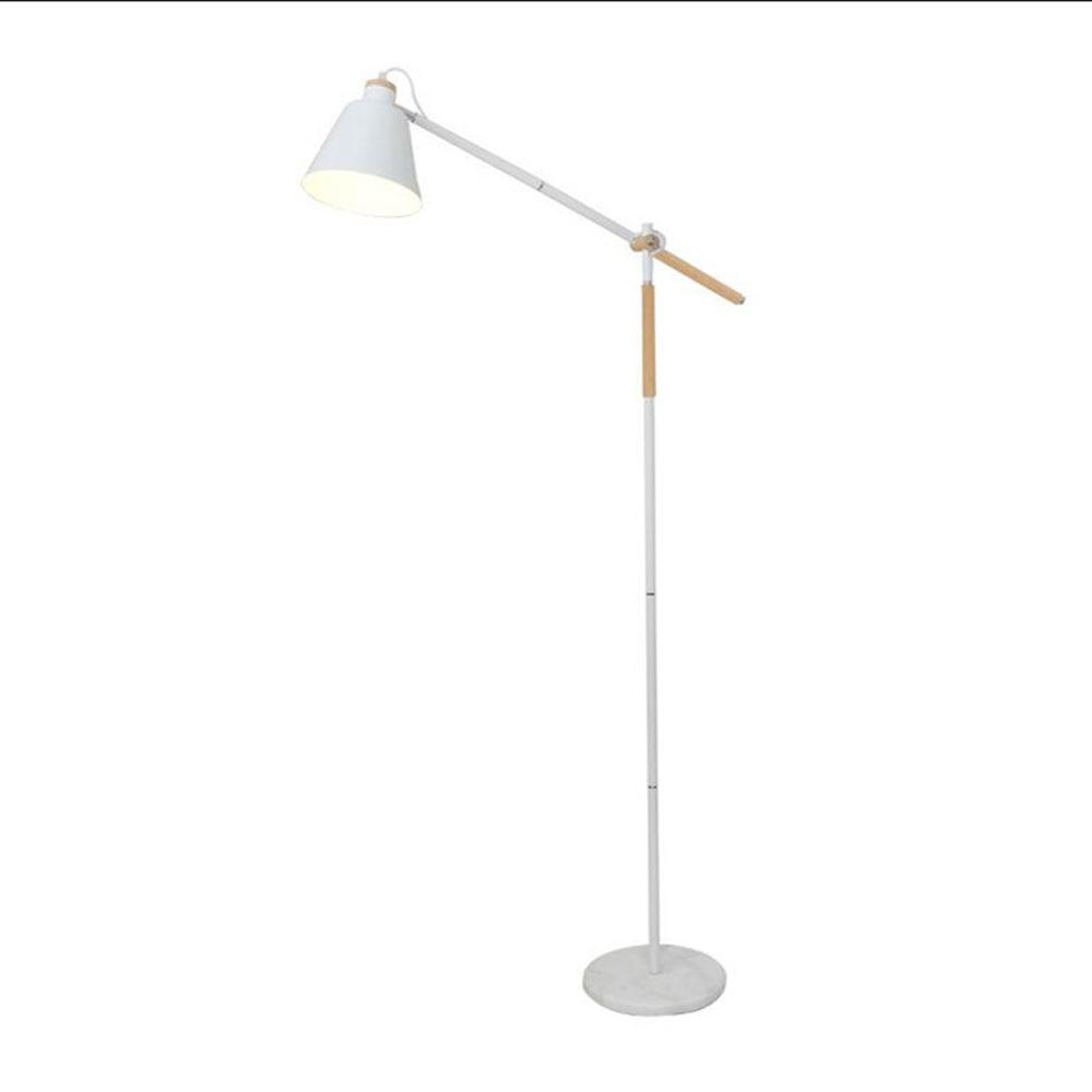 compare prices on white floor lamp online shoppingbuy low price  -  new modern floor lamp white wood floor light loft stand lightingliving room bedside standing