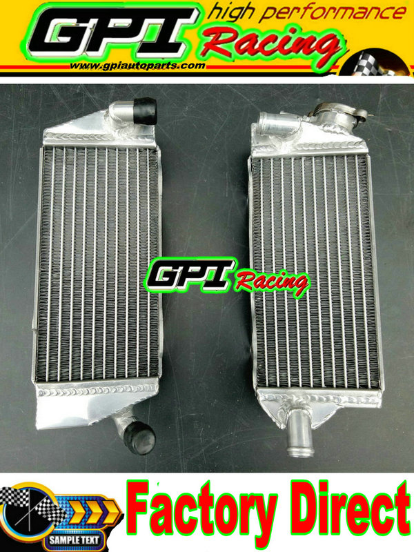 HIGH-PER radiator for KAWASAKI 4X4i KVF BRUTE FORCE 650 2011-2013 2012 11 12 13
