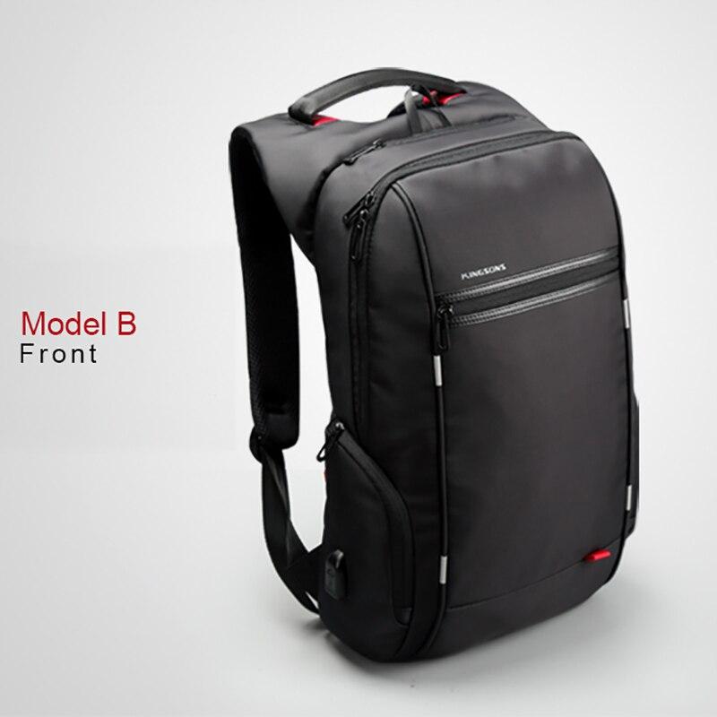 a3f8278b2e Kingsons 2019 meilleur voyage d'affaires sac à dos homme mode ordinateur  portable hommes sac à bandoulière Anti vol Mochila hommes sac à dos Design  sac à ...