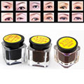 5 colors Professional Make Up Eye Brows Tint Gel Natural Black Brown Semipermanent Waterproof Henna Eyebrow Tattoo Paste