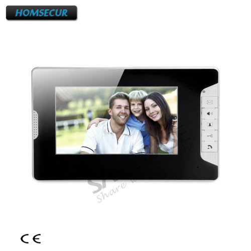 HOMSECUR XM703-B 7inch Color Indoor Monitor With Mude Mode For Video Door Phone Intercom System