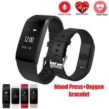 Smart Браслет пульсометр cardiaco часы A86 Приборы для измерения артериального давления крови кислородом смарт-браслет IP67 Водонепроницаемый