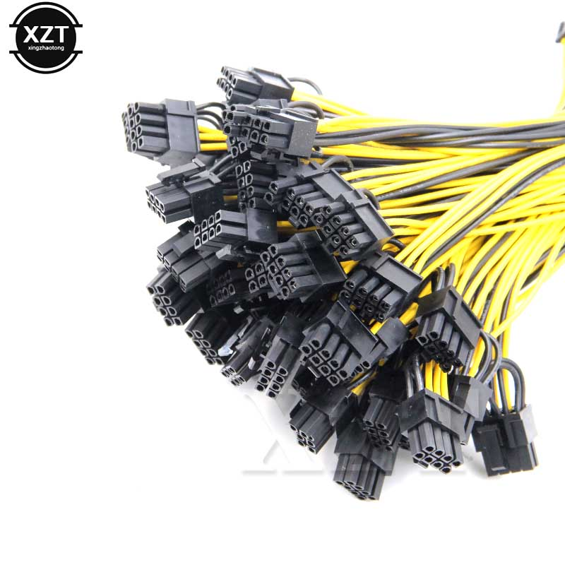 Molex 6-<font><b>pin</b></font> <font><b>PCI</b></font> Express to 2 x PCIe <font><b>8</b></font> (6+2) <font><b>pin</b></font> Motherboard Graphics Video Card <font><b>PCI</b></font>-<font><b>e</b></font> GPU VGA Splitter Hub Power Cable image