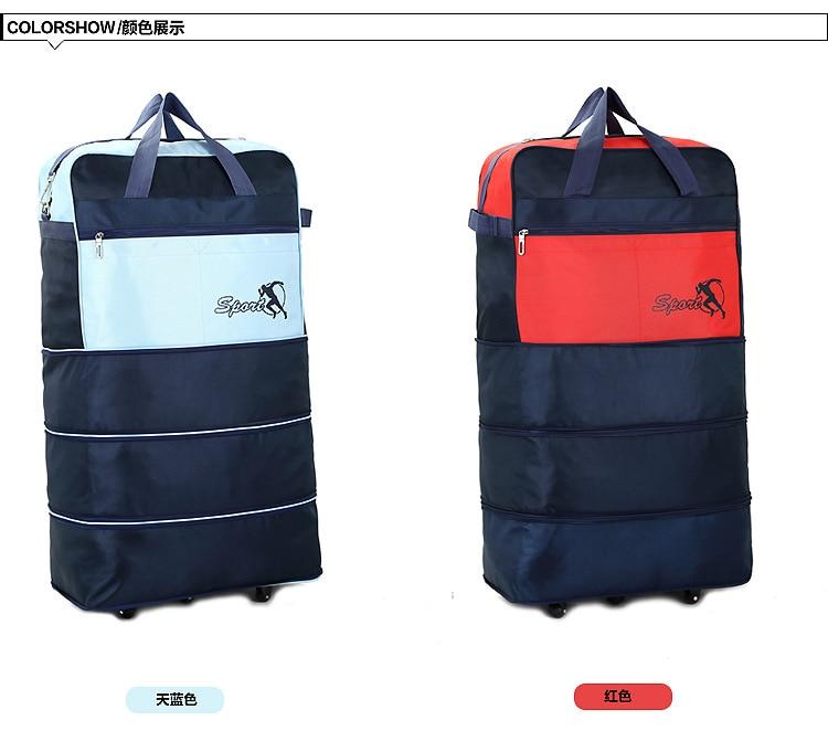 Aliexpress.com : Buy Super big size 3 layer adjustable travel bags ...
