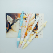 купить 1pcs/lot Kawaii Mushroom Dot Series Press Mechanical Pencil School Office Supply Student Stationery  Automatic Pencil 0.5mm дешево