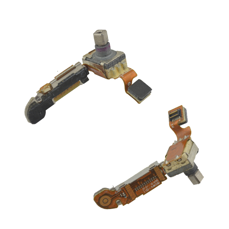 Original Volume Switch Sound Key With Flex Cable For Motorola MTP850 MTH800 Tetra Portable Two-way Radio