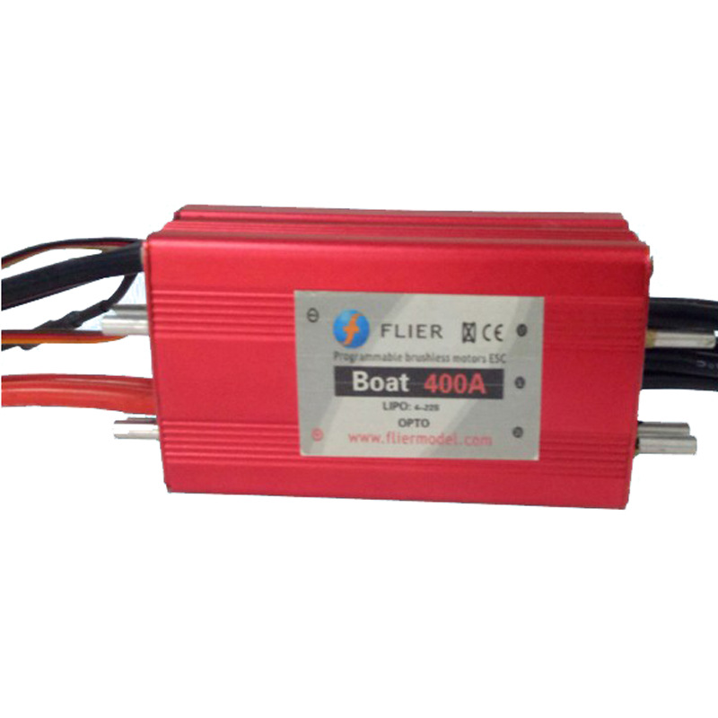 FATJAY FLIER 400A ESC 3 22S high voltage brushless waterproof speed controller with USB programming cable