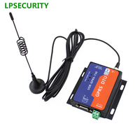 LPSECURITY RS232/RS485 GSM Modems Support GSM/GPRS GPRS to Serial Converter for street lamp remote monitoring management