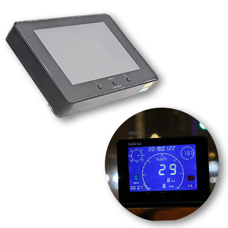 1pcs 12v / 24v New Multifunction GPS Signal Car Truck Speedometer Odometer Gauge Time Hour Meter Voltmeter Gauge