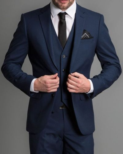 Custom Made 3 Piece Suits Mens Wedding Suits Groom Tuxedos Formal Occasion Suits