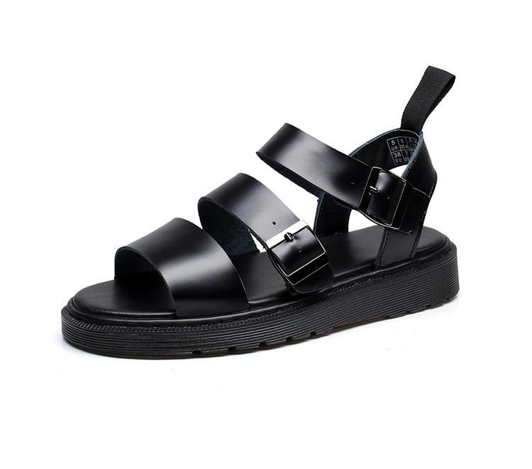 OLPAY dr martens GRYPHON sandales femmes chaussures femmes sandales en cuir véritable plate-forme sandales sandalias mujer 2018