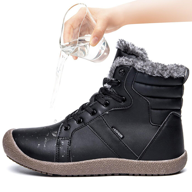 ADBOOV-Waterproof-Snow-Boots-High-Top-Fur-Lining-Winter-Shoes-Men-Warm-Leather-Outdoor-Ankle-Boots
