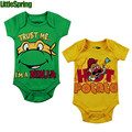 LittleSpring Mr.POTATO HEAD Baby rompers infant cartoon jumpsuit boys summer one piece baby clothes Teenage Mutant Ninja Turtles