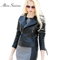 Plus Size S To 3XL Top Quality Sheepskin Real Leather Jackets Genuine Short Leather Coats Motorcycle