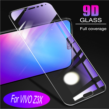 Glass Protective Film 9D Full Cover Tempered For Vivo Z3X  Screen Protector Anti Blue Ray film