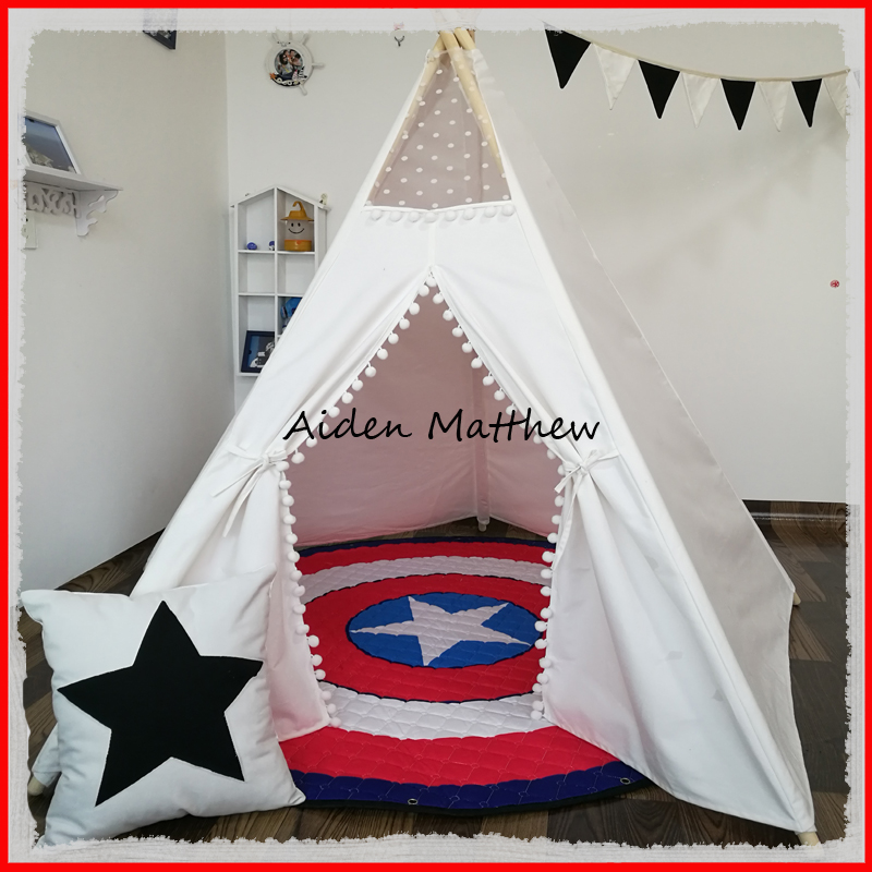 Free Shipping Kid Tent Indian Teepee Tents hot sale indian wood tent teepee tents for sale for sale teepee tent for party
