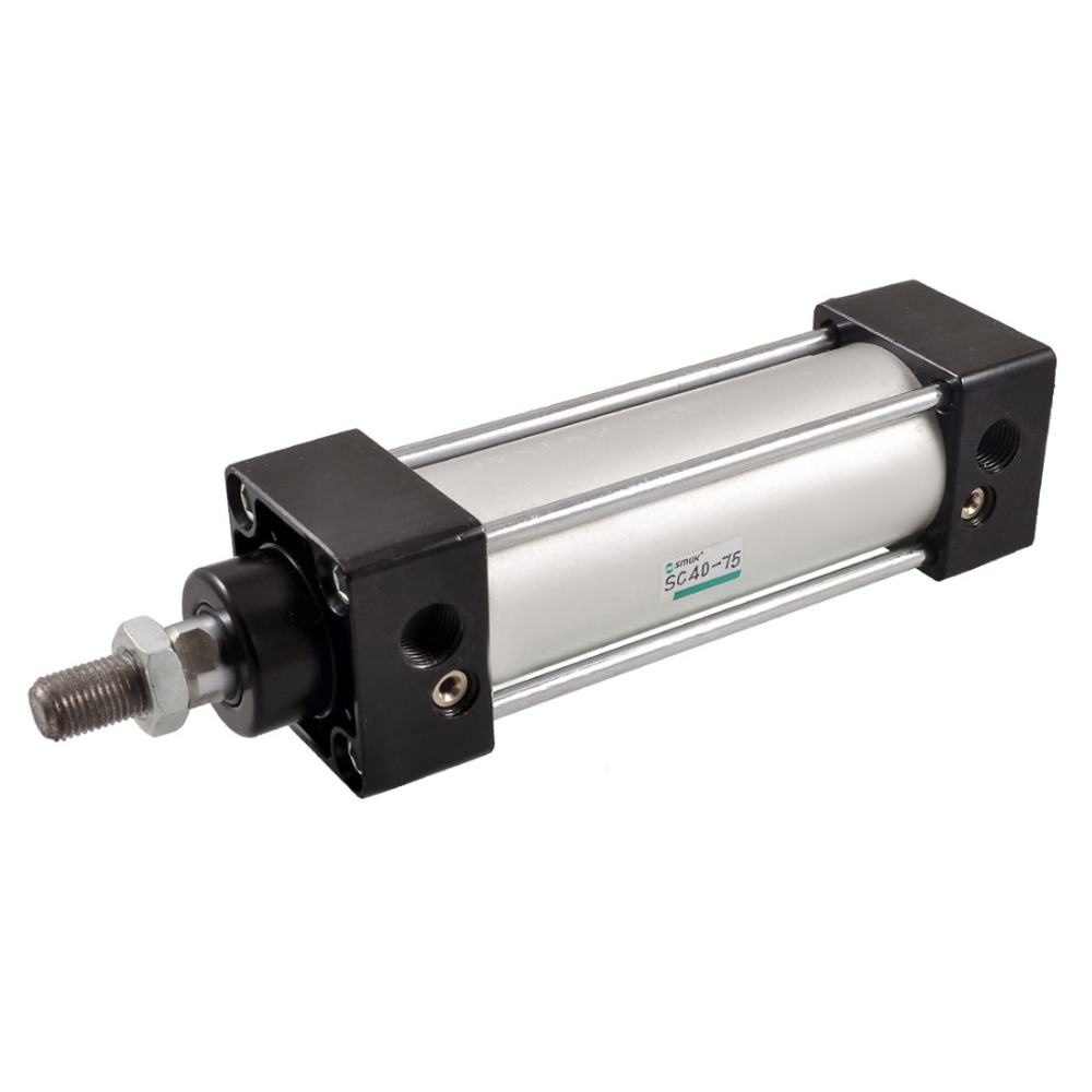 High Quality New 215 x 50 x 50mm Pneumatic Parts SC40-75 Single Rod Double Action Pneumatic Air Cylinder new 50mm cylinder