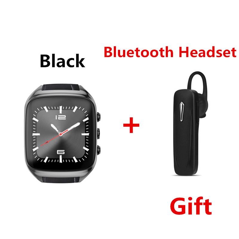New 3G WiFi X01S AIR Android Smartwatch Phone 600mAh Bluetooth Smart Watch 1.3GHz Four core IP67