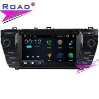 TOPNAVI Android 7,1 двойной Din 4 ядра 7 Автомобильный мультимедийный DVD плеер для Toyota Corolla 2014 стерео gps Навигация Авто радио