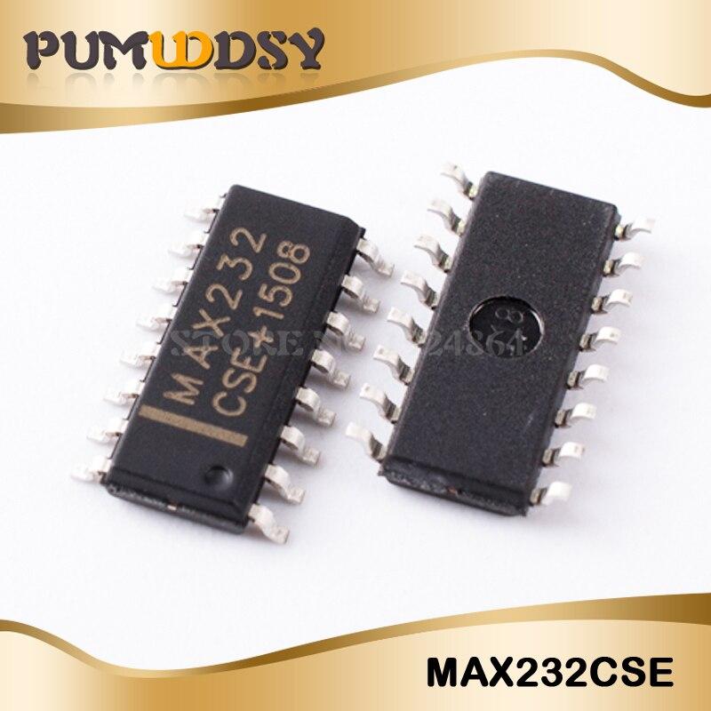 10PCS MAX232CSE MAX232 16 Narrow SO 16PIN Drive/receiver