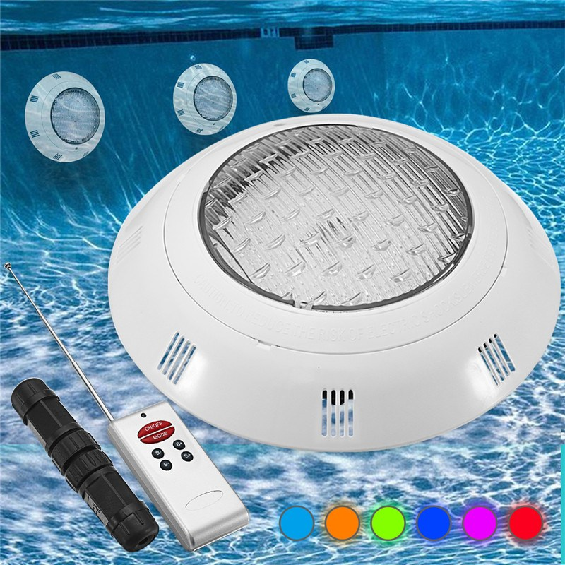 Mising Underwater Lights RGB LED Swimming Pool Light Resin Filled Piscina Wall Mounted Pool Lamp 12V IP68 18W Pond rgb 300mm 513 led swimming pool light 316l stainless 12v resin filled 18 24 35w swimming pool pond led light lamp