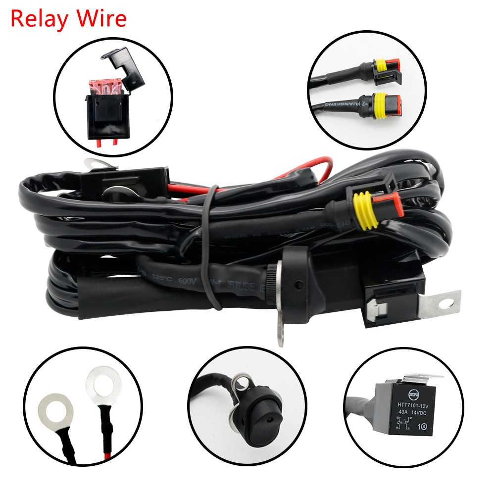 medium resolution of motorcycles led fog light wiring harness relay wire for bmw r1200 gs adv f800gs motorcycle
