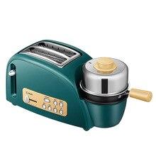 Donlim тостер домашний мини-многофункциональный автоматический слюну драйвер варить яйца паром тостер аппарат для приготовления завтрака
