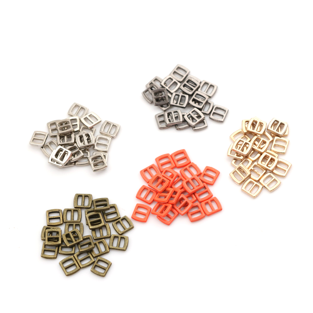 060a49d3e736 3mm Mini Button Buckle Tri-glide Ultra-small Belt Buckle Doll Clothes  Buttons Shoes Buckle Blyth Doll Clothing Accessory 10pcs
