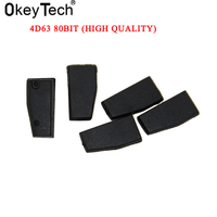 5PCS LOT New Car Key Chip Auto Transponder Chip ID83 4D63 80Bit For Mazda Ford High
