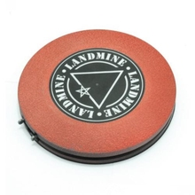 Recommended New Red Plastic Landmine Foot Switch Tattoo Foot Pedals Wireless for tattoo machine tattoo supply