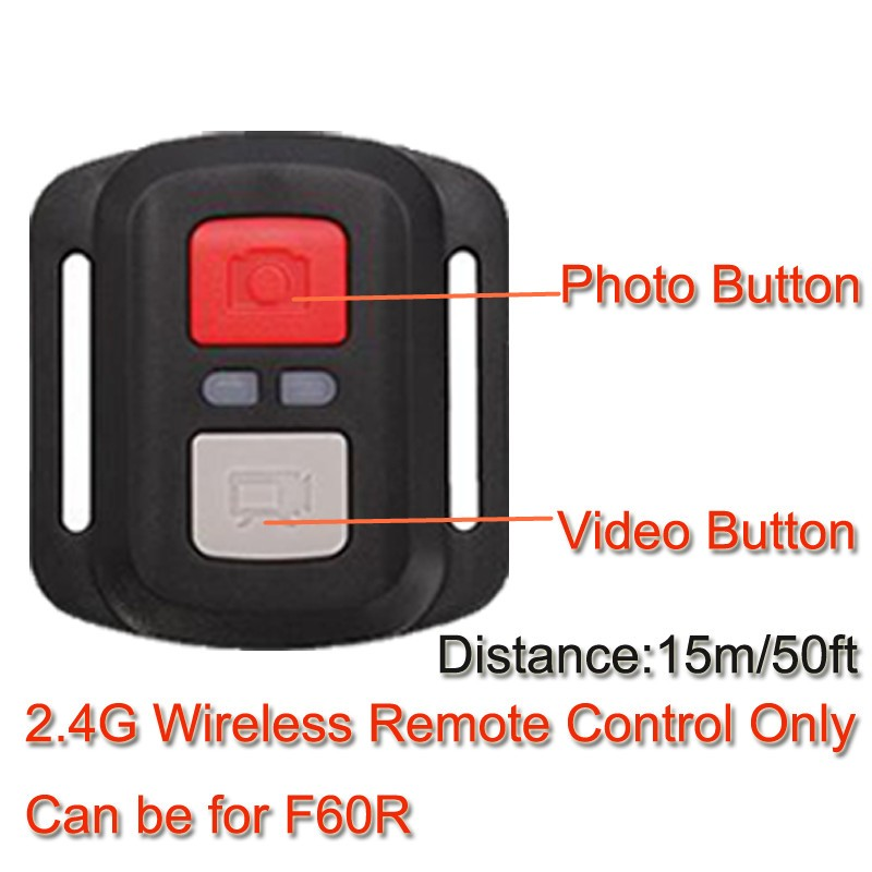 4K Action Camera Original F60 / F60R Remote WiFi 2.0 LCD 170D Len Helmet Cam Underwater go Waterproof pro Camcorder 1080P@60fps 2