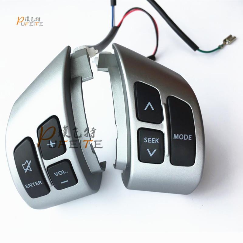 все цены на free shipping Steering Wheel Audio& Channel Multi function Buttons apply for Suzuki Swift/SX4 to refit онлайн