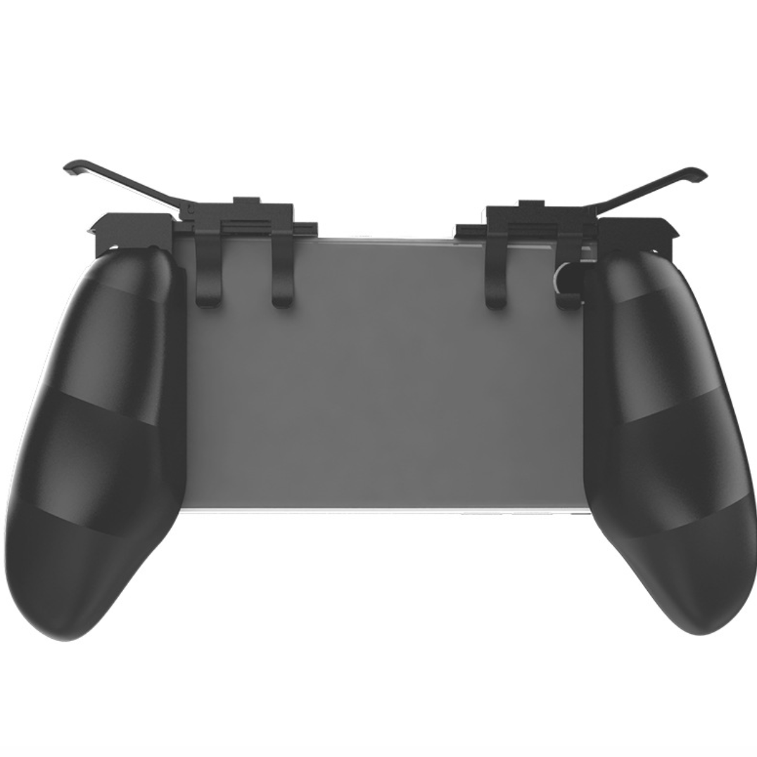 Image 2 - New Mobile Phone forPubg Game Handle Grip With L1R1 Shooter Controller Trigger Forpubg-in Gamepads from Consumer Electronics