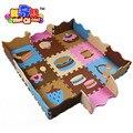 Crianças eva tapete quebra-cabeça do bebê jogo tapete de espuma eva dos desenhos animados tapete, Almofada de para crianças jogos rugswith SGS