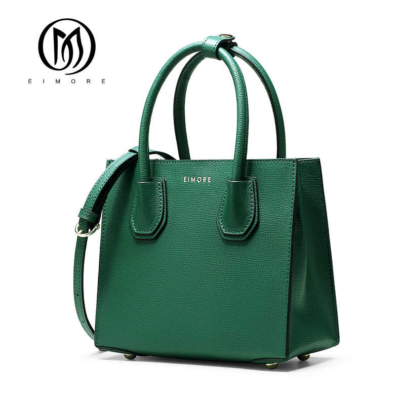 EIMORE New Designer Handbag Women Genuine Leather Bags Famous Brand Female Shoulder Bags High Quality Women Handbags Luxury