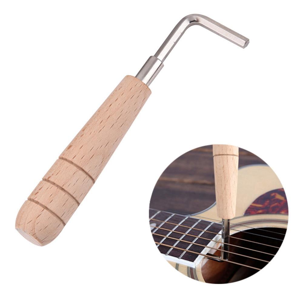 Ģitāras pielietojums pielāgo ģitāras kakla izliekumu 4mm kopņu stieņu ģitāras atslēgas sešstūra atslēgas rīks Mandolin Ukulele luthier rīks