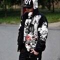2016 Nueva Moda Para Hombre Sudaderas Con Capucha y Sudaderas Hombre Hip Hop Hombres Sudadera Con Capucha Más Tamaño XXXXL de Gran Tamaño sudaderas con capucha de la venta caliente