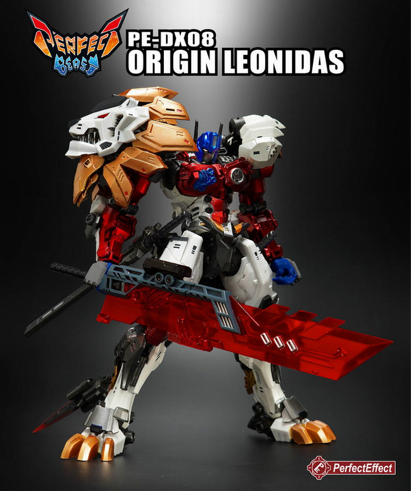 Transformers PE DX08 Origin Leonidas BW transformers маска bumblebee c1331