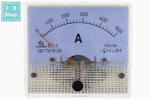 5 Tyles AC 5A Analog Panel Ammeter Gauge Ampere Current Meter 85L1 0-200A