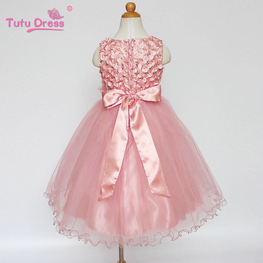 Fein Rosa Party Kleider Für Mädchen Fotos - Brautkleider Ideen ...