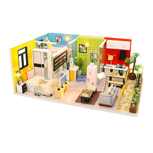 2019 NEW DIY Doll House Wooden