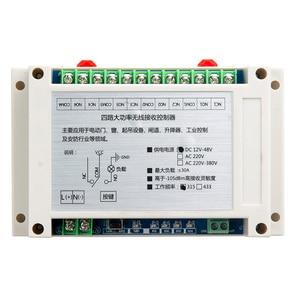 Image 2 - DC 12V  24V 36V  48V 10A 4CH 30A  RF switch Wireless Remote lighting  Control  power switch