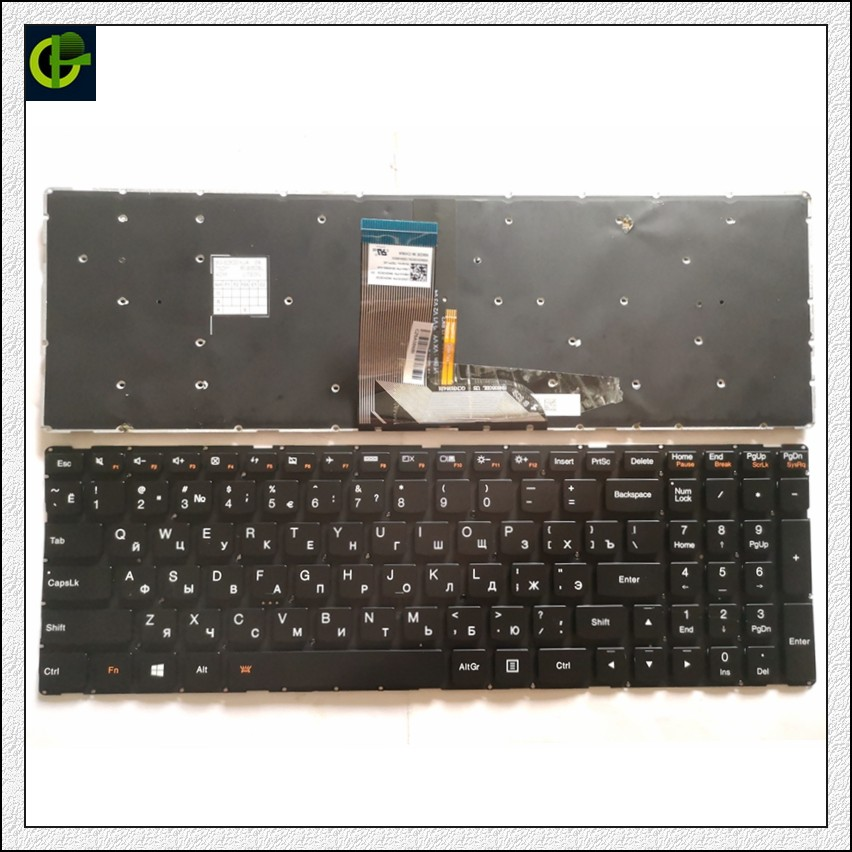 Original New Russian Backlit Keyboard For Lenovo IdeaPad 700 15 17 700-15 700-15ISK 700-17ISK 700-17 700-15-ISE 700-15-IFi RU