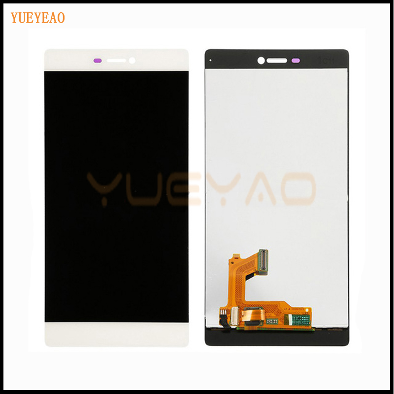 YUEYAO LCD Display+Digitizer Touch Screen Assembly For Huawei Ascend P8 LCD Screen Display With Touch Screen Digitizer Assembly yueyao lcd display digitizer touch screen assembly for huawei ascend p7 p7 l10 p7 l00 p7 l05 lcd screen aseembly