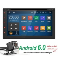 Quad Core AutoRadio 2 Din Pure Android 6 0 Car NO DVD Player For Nissan Xtrail
