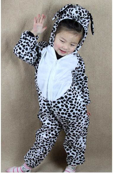 Children Kids Baby Cartoon Animal Dalmatian Dog Costume Cosplay Clothing Children's Day Halloween Costumes Jumpsuit Y964
