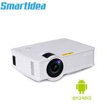 1800lumen Android 6.0 di Smart LED 3D Casa Mini Proiettore Portatile di Video Gioco A CRISTALLI LIQUIDI Proyector Beamer HDMI AV USB di Sostegno HD 1080P